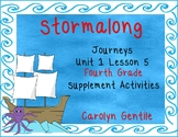 Stormalong Journeys Unit 1 Lesson 5 Fourth Grade Supplement Activities
