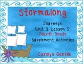 Stormalong Journeys Unit 1 Lesson 5 Fourth Grade Supplement Activities