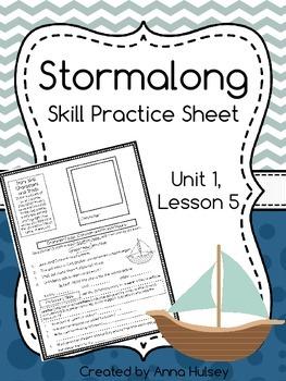 Stormalong (Skill Practice Sheet)