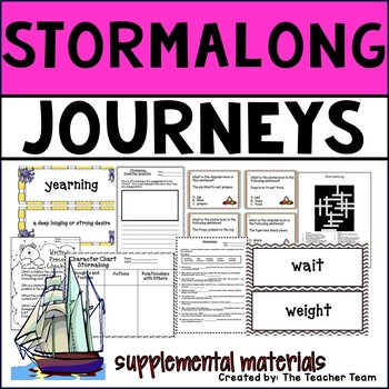 Stormalong Journeys 4th Grade Unit 1 Lesson 5 Activities and Printables