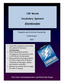 Stormbreaker!  100 Words Quizzes