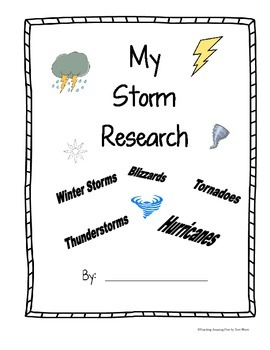 Storms  NO PREP Research Packet