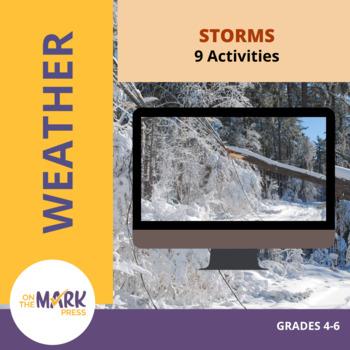Storms Activities Grades 4-6
