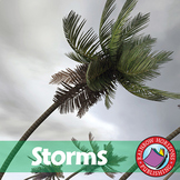 Storms: Hurricanes, Tornadoes, Blizzards & Drought Gr. 1-3