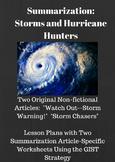 Storms and Hurricane Hunters: Summarization