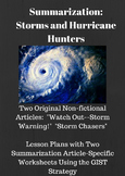 Storms and Hurricane Hunters: Summarization