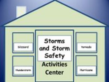 Storms and Storm Safety Activities Center