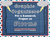 Storms and Weather Graphic Organizers