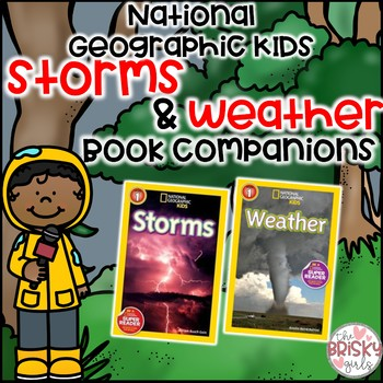 Storms and Weather National Geographic Kids Flipbooks BUNDLE