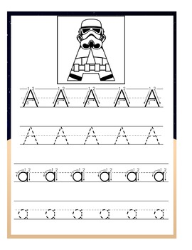 Stormtroopers Preschool Handwriting Pack
