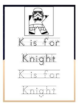 Stormtroopers Preschool Handwriting Pack