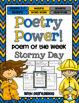 Poem of the Week: Stormy Day Poetry Power!