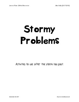 Stormy Problems