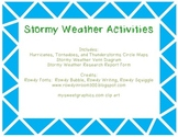 Stormy Weather Activities and Research Form