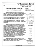"Story 10: ""The FMS Student Cook Off"" Part 1 of 5"