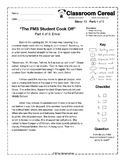 "Story 10: ""The FMS Student Cook Off"" Part 4 of 5"