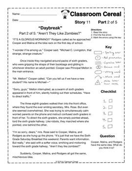 """Story 11: """"Daybreak"""""""