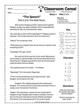"Story 3: ""The Speech"" Part 2 of 5"