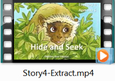 Story 4 Hide and Seek - Movie with audio for nature nouns
