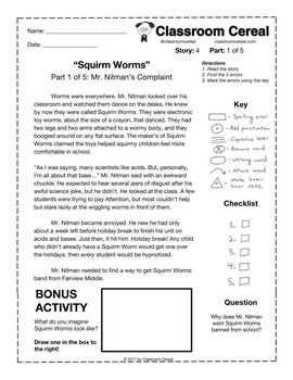 "Story 4: ""Squirm Worms"" Part 1 of 5"
