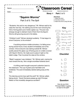"Story 4: ""Squirm Worms"" Part 3 of 5"