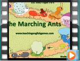 Story 5 Marching Ants - Movie with audio for numbers, colours and nature