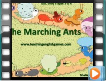 Story 5 Marching Ants - Movie with audio for numbers, colo
