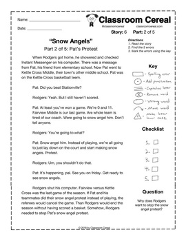 "Story 6: ""Snow Angels"" Part 2 of 5"