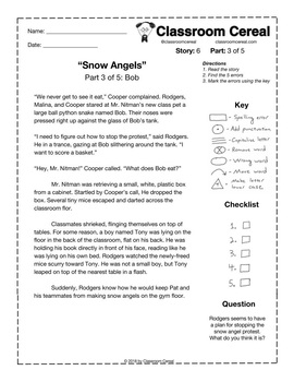 "Story 6: ""Snow Angels"" Part 3 of 5"