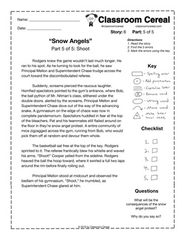 """Story 6: """"Snow Angels"""" Part 5 of 5"""