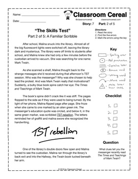 "Story 7: ""The Skills Test"" Part 2 of 5"