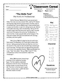 "Story 7: ""The Skills Test"" Part 4 of 5"
