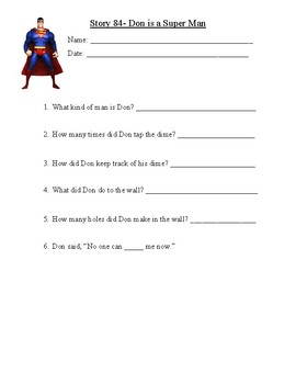 Story 84- Don is a Super Man