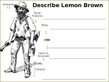 Story Analysis - The Treasure of Lemon Brown