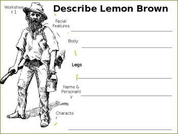 Story Review & Analysis - The Treasure of Lemon Brown by Walter Dean Myers