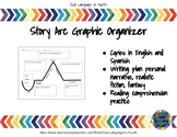 Story Arc Graphic Organizer - Bilingual Spanish - Arco Narrativo Org. Gráfico