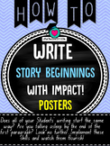 Story Beginnings (Sizzling starts) that Impact!!!
