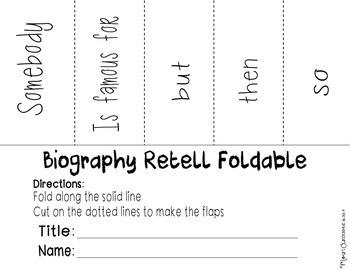 Story Bio Sheet
