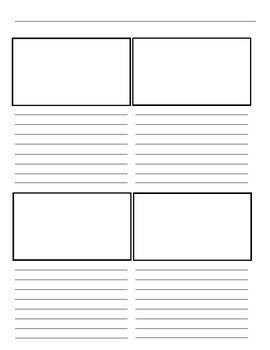 Story Board Template Pack Freebie