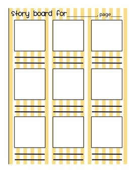 Story Board (color) Templates