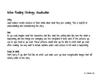 Story Board with Active Reading Strategy