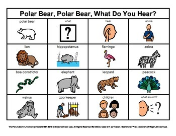 Story Boards (Set 1 - Polar Bear Polar Bear & Brown Bear Brown Bear)