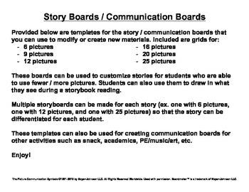 Story Boards (Set 1 - Polar Bear Polar Bear & Brown Bear Brown Bear)