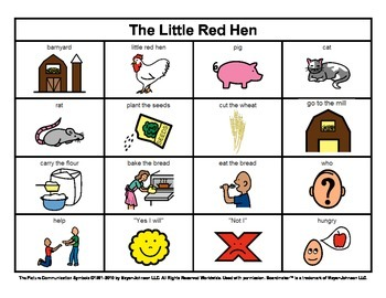 Story Boards (Set 10 - Three Billy Goats Gruff & The Little Red Hen)