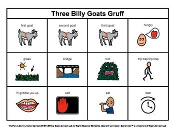 Story Boards (Set 10 - Three Billy Goats Gruff & The Littl