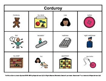 Story Boards (Set 2 - Corduroy & Corduroy's Pocket)