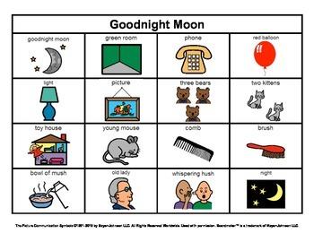 Story Boards (Set 3 - Goodnight Moon & Goodnight Gorilla)