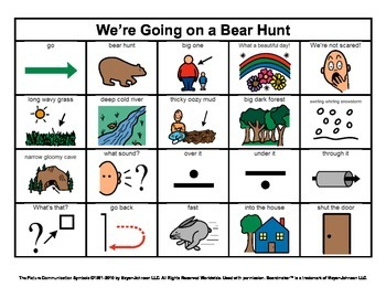 Story Boards (Set 4 - Henny Penny & We're Going on a Bear Hunt)