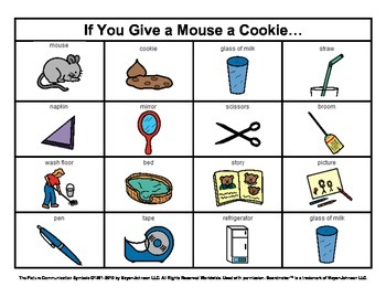 Story Boards (Set 5 - If You Give a Mouse a Cookie & The W