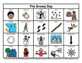 Story Boards (Set 6 - The Mitten & The Snowy Day)